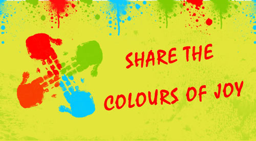 Share the Colours of Joy